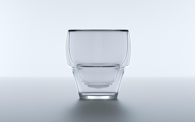 Glas Visualisierung Rendering Studio