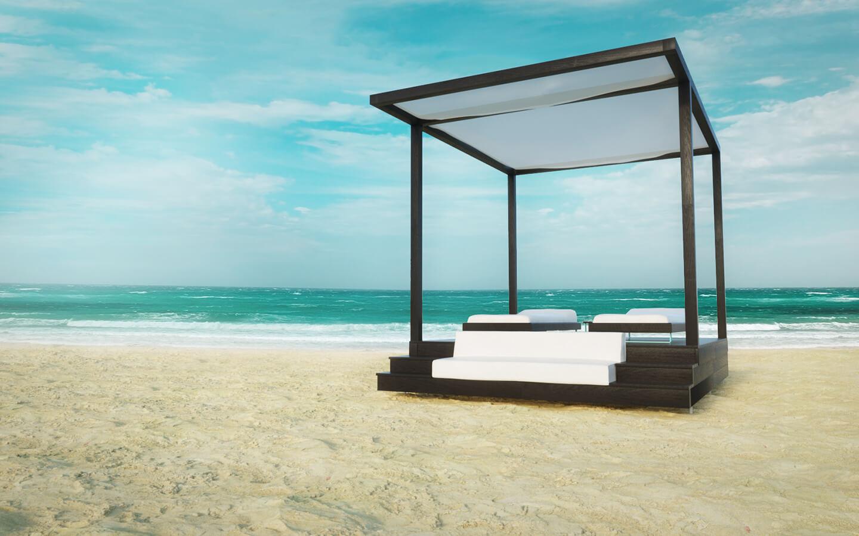 Cabana Produkt Visualisierung Realistisch