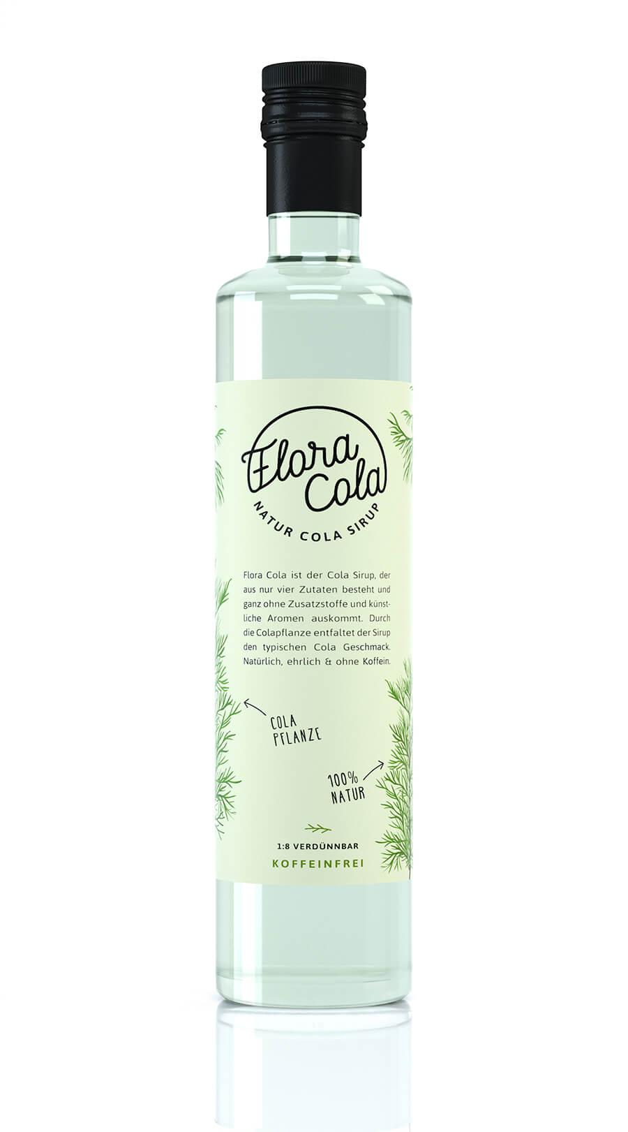 Floracola Produktvisualisierung Rendering Realistisch