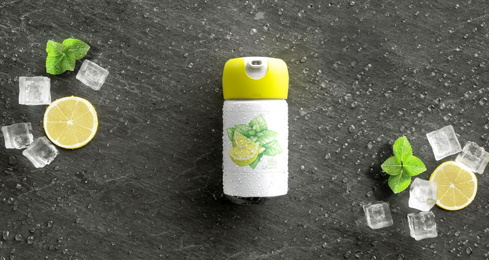 Foampresso Icetea 3d Produkt Visualisierung